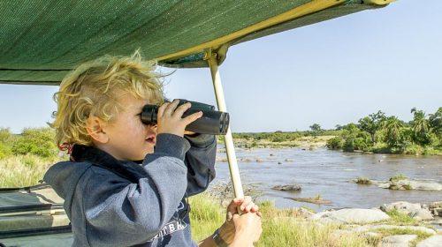 Safari avec des enfants © Nomad