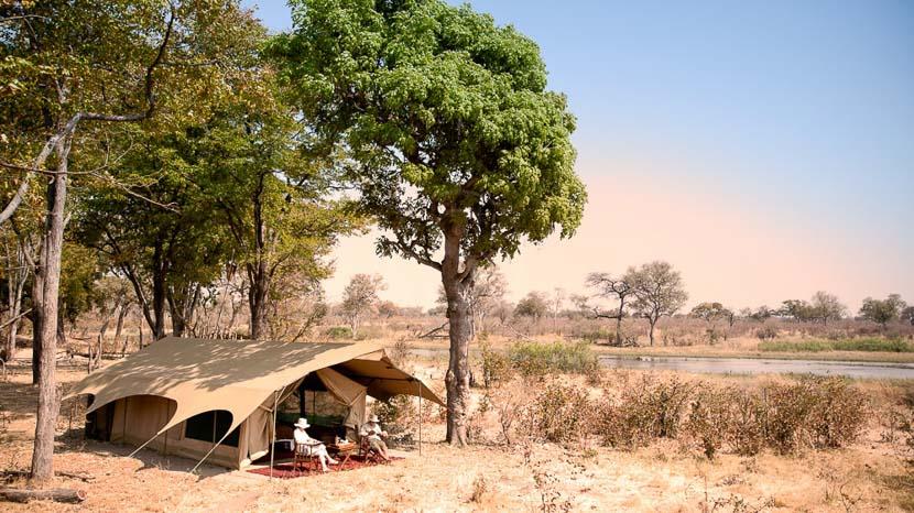 Selinda Explorer Camp, Botswana © Great Plains Conservancy
