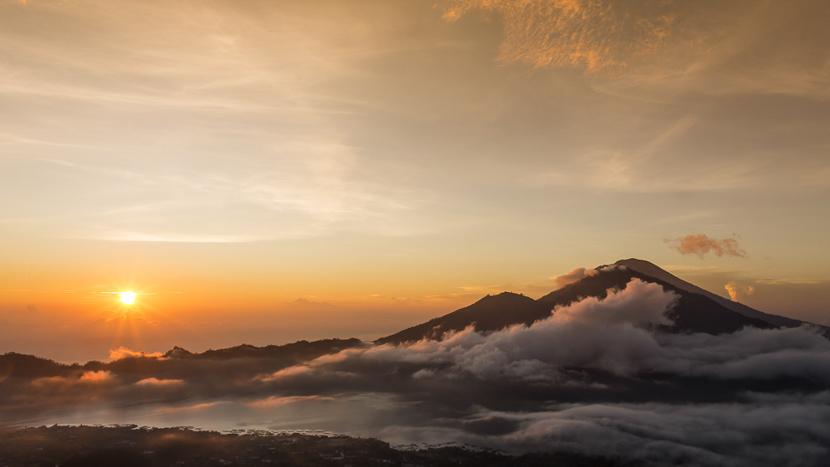 Mont Batur, Indonésie
