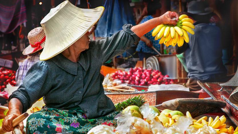 Ambiance de Bangkok, Thailande © Shutterstock