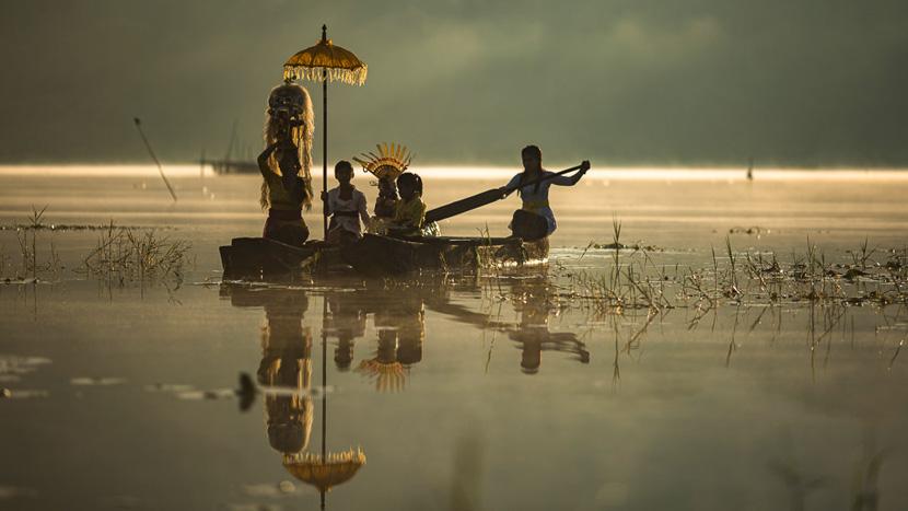 Région de Munduk, Bali, Indonésie