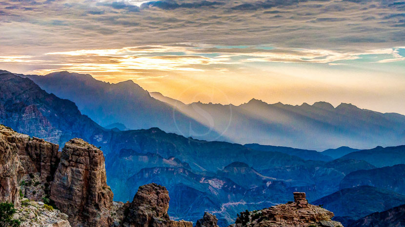 Monts Hajar, Oman
