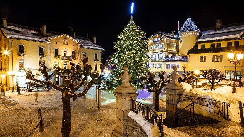 Megève, France © Shutterstock