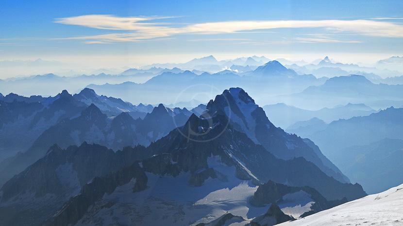 Région du Mont Blanc, France © Shutterstock
