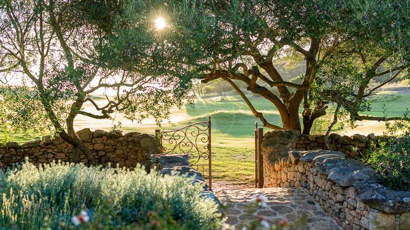France, Corse du Sud (2A), Domaine de Murtoli, La Ferme et le golf