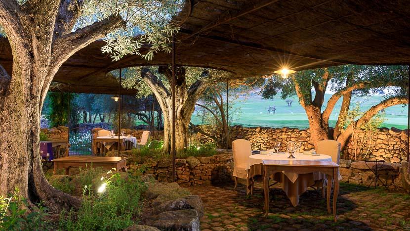 France, Corse du Sud (2A), Domaine de Murtoli, la Ferme, le restaurant