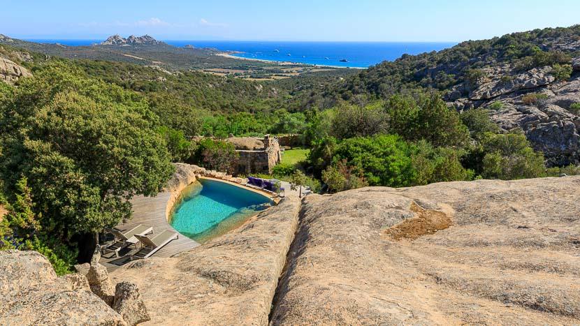France, Corse du Sud (2A), Domaine de Murtoli, bergerie Arba Barona