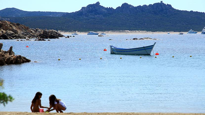 France, Corse du Sud (2A), Domaine de Murtoli, la crique
