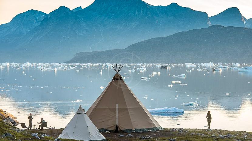 Kiattua Camp, Groënland © Arctic Nomad - Stanislas Fautré