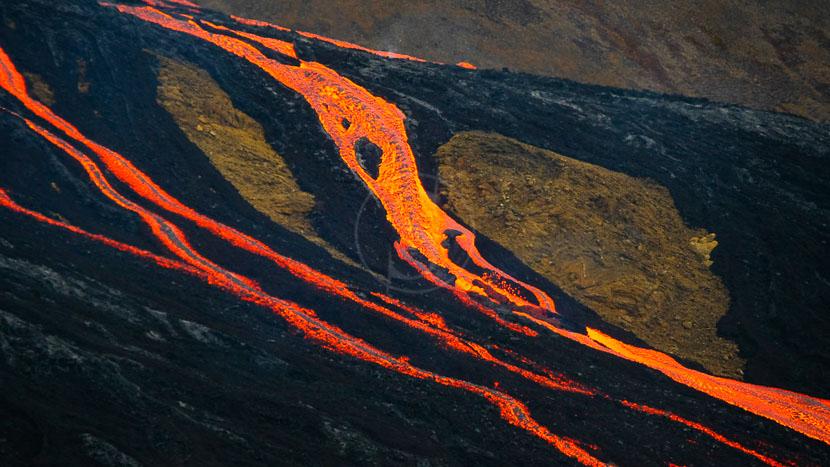 Volcan Fagradalsfjall, Islande © Xavier Allard