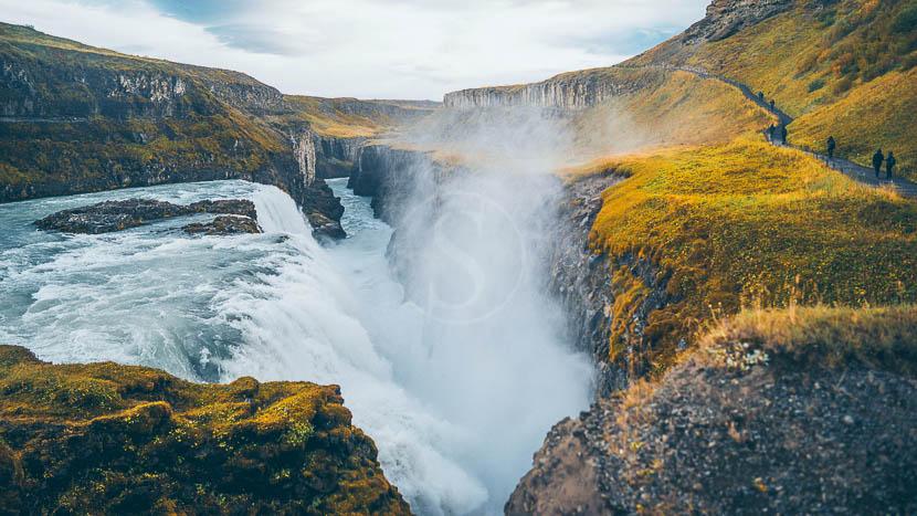 Gullfoss, Islande © Envato